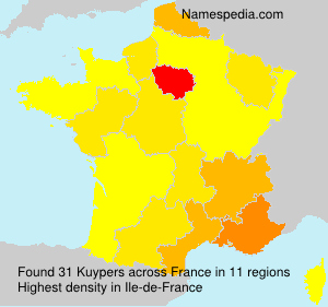 Surname Kuypers in France