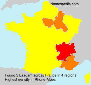 Surname Laadam in France