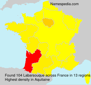 Surname Labarsouque in France