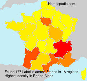Surname Labeille in France