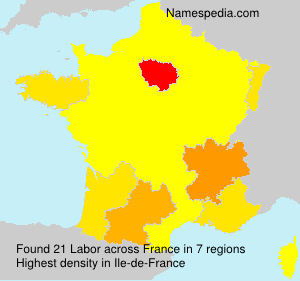 Surname Labor in France