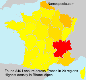 Surname Laboure in France