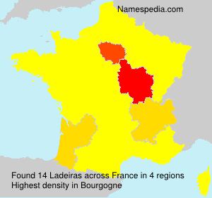 Surname Ladeiras in France