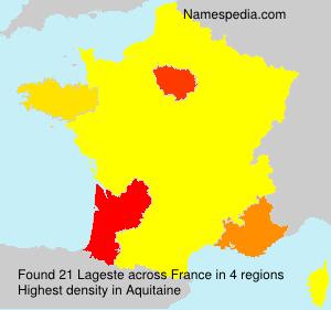 Lageste - France