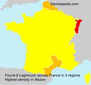 Surname Lagmouch in France