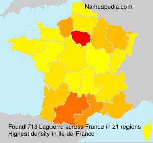 Familiennamen Laguerre - France