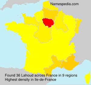 Familiennamen Lahoud - France