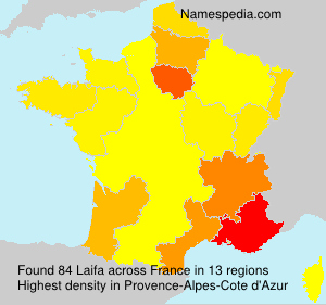 Surname Laifa in France