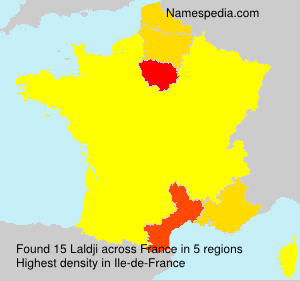 Familiennamen Laldji - France