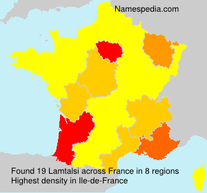 Surname Lamtalsi in France