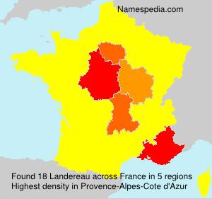 Surname Landereau in France