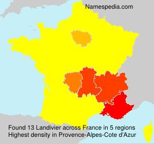 Surname Landivier in France