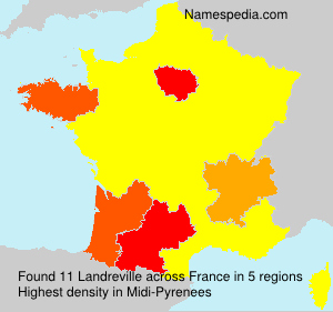 Surname Landreville in France