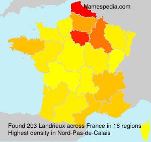 Surname Landrieux in France
