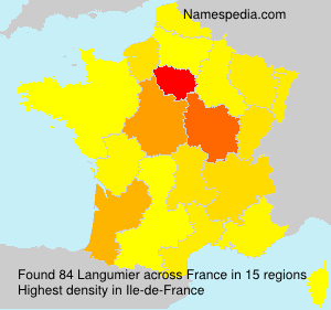 Surname Langumier in France