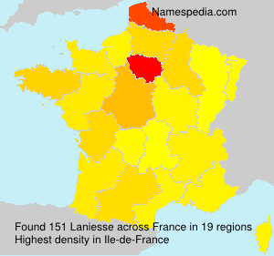 Surname Laniesse in France
