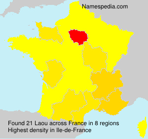 Surname Laou in France