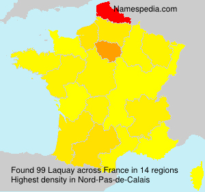 Surname Laquay in France