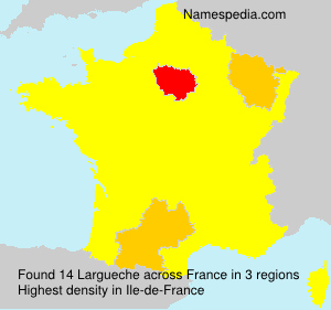 Surname Largueche in France