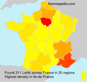 Surname Laribi in France