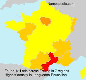 Surname Laris in France