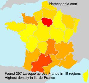 Surname Laroque in France