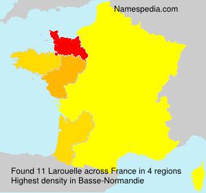 Familiennamen Larouelle - France