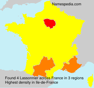 Surname Lassonnier in France