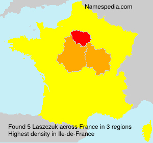 Surname Laszczuk in France