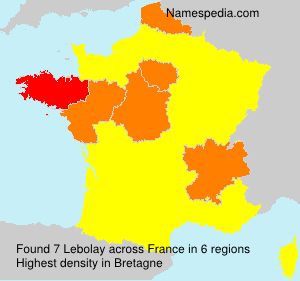 Surname Lebolay in France