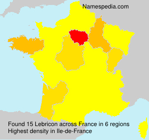 Lebricon - Names Encyclopedia