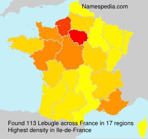 Familiennamen Lebugle - France