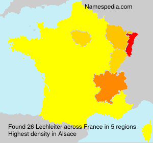 Surname Lechleiter in France