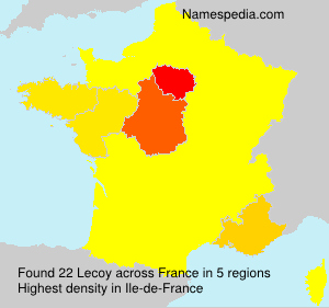 Surname Lecoy in France
