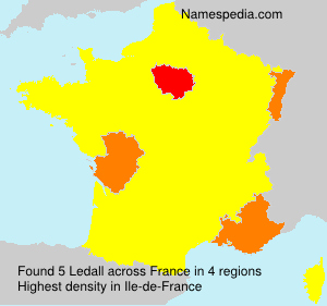Surname Ledall in France