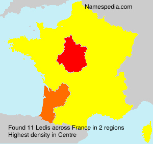 Surname Ledis in France