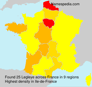 Surname Legleye in France