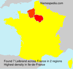 Surname Leibrand in France