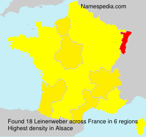 Surname Leinenweber in France