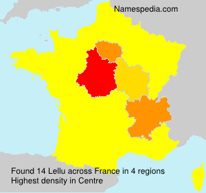 Familiennamen Lellu - France