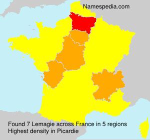 Surname Lemagie in France