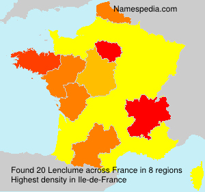 Surname Lenclume in France