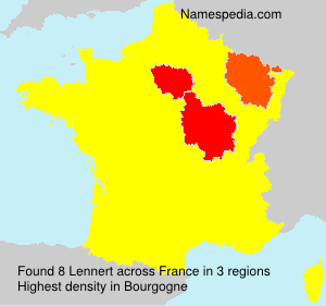 Surname Lennert in France