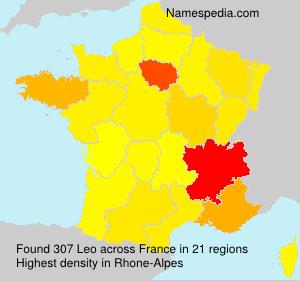 Surname Leo in France