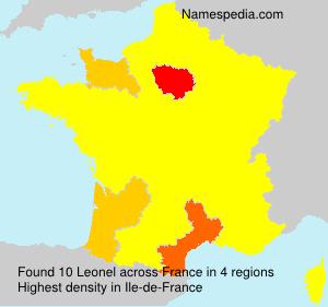 Surname Leonel in France