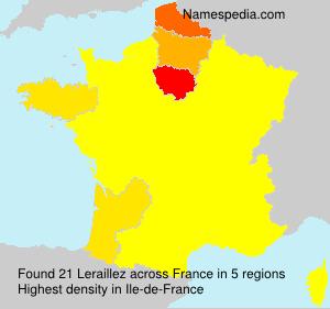 Surname Leraillez in France