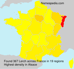 Surname Lerch in France
