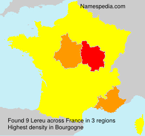Surname Lereu in France