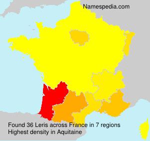 Surname Leris in France