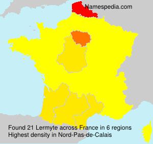Surname Lermyte in France